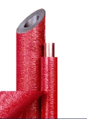 Przykładowa otulina w kolorze czerwonym.