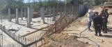 Wieliczka. Budowa nowej komendy straży pożarnej idzie pełną parą. Inwestycja pochłonie ponad 18 mln zł [ZDJĘCIA]