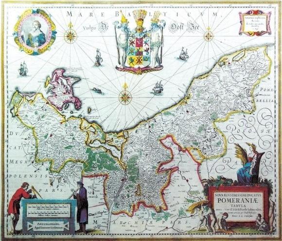 Prezentowana mapa jest w zbiorach szczecineckiego muzeum.