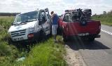 Wypadek strażackiego auta pod Wrocławiem (FOTO)