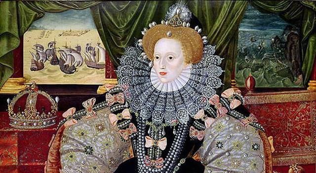 George Gower, portret Elżbiety I