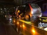 Ciężkowice. Osobówka zderzyła się z dostawczakiem na drodze krajowej nr 45. Trzy osoby zostały ranne, w tym jedna ciężko