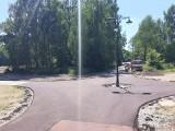 W gminie Koluszki powstało rondo dla... rowerzystów. To pierwsze tego typu skrzyżowanie w sieci ścieżek rowerowych