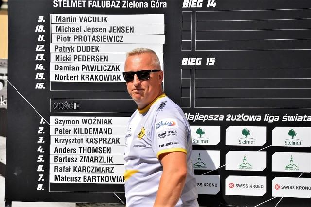 Tomasz Walczak, kierownik drużyny Stelmetu Falubazu Zielona Góra.
