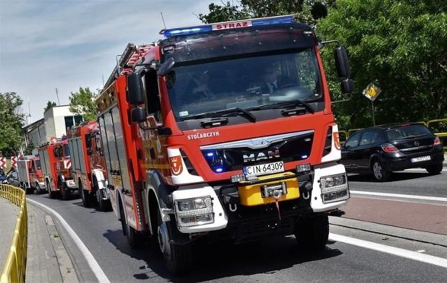 Jeden zarażony koronawirusem strażak, to czasowo wykluczona z działań cała jednostka