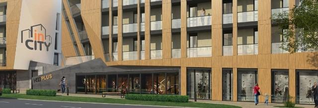 Ponad sto mieszkań w nowoczesnym budynku w centrum KielcInwestycja ma powstać przy ulicy 1 Maja. Na parterze oprócz mieszkań znajdą się lokale usługowe, najwyżej - mieszkania dwupoziomowe.