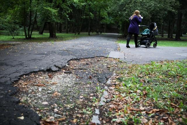 Park Bednarskiego od dawna wymaga remontu. Projekt jego rewitalizacji budzi jednak wiele emocji