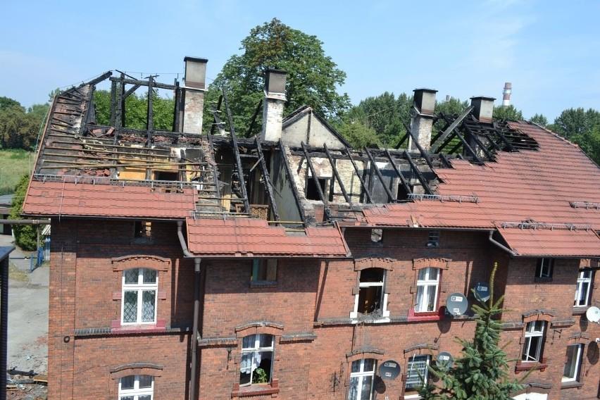 Pożar familoka w Czerwionce-Leszczynach