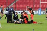 Master Pharm Rugby Łódź. Szymona Witkowskiego czeka teraz rehabilitacja