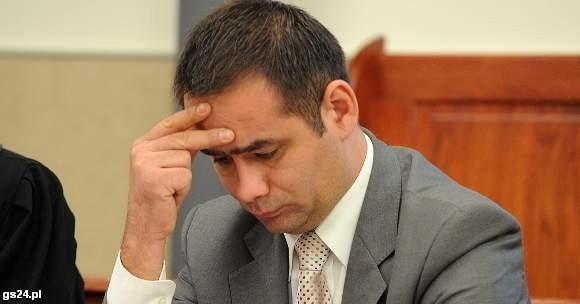 Cezary Atamańczuk nie pojawił się na ogłoszeniu wyroku.