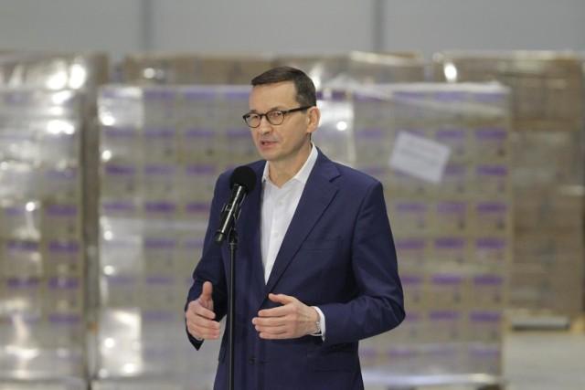 Premier Mateusz Morawiecki o niewystarczającej ilości szczepionek: Musimy naciskać na Komisję Europejską, bo to tam są problemy