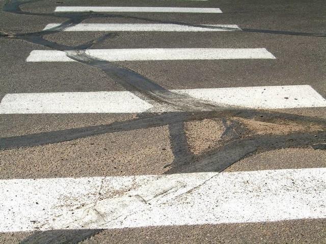 Okoliczności wypadku na ul. 11 listopada w Żarach bada policja