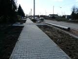 Remont ulicy Warszawskiej w Pabianicach - postęp prac, ZDJĘCIA