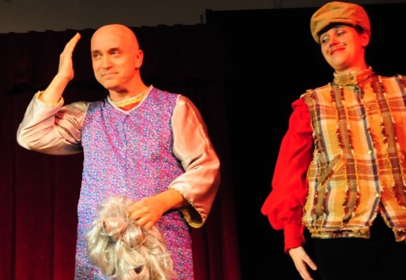 Beata i Artur Belingowie z Teatru Rozrywki Trójkąt