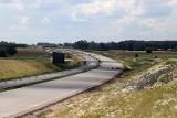 Budowa A1 koło Łodzi. Zdjęcia z budowy autostrady A1 od węzła Tuszyn do węzła Piotrków Trybunalski Południe