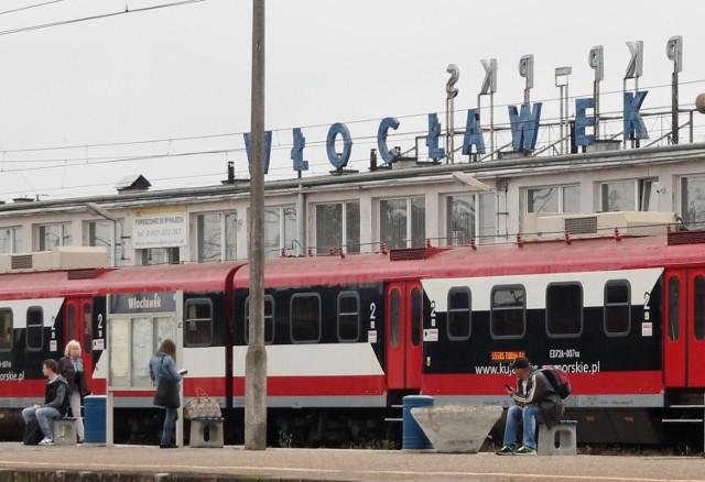 Dworzec we Włocławku.