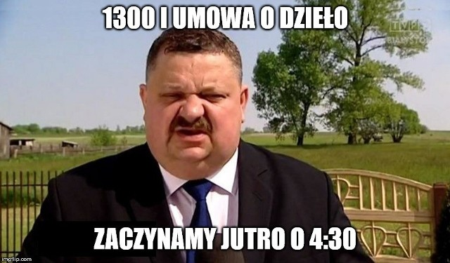 Stanisław Derehajło stał się bohaterem memów