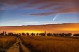 Noc Komety w Świebodzinie. Minął rok od spektakularnego widowiska: nad Świebodzinem przeleciała kometa Neowise. Co za widok!