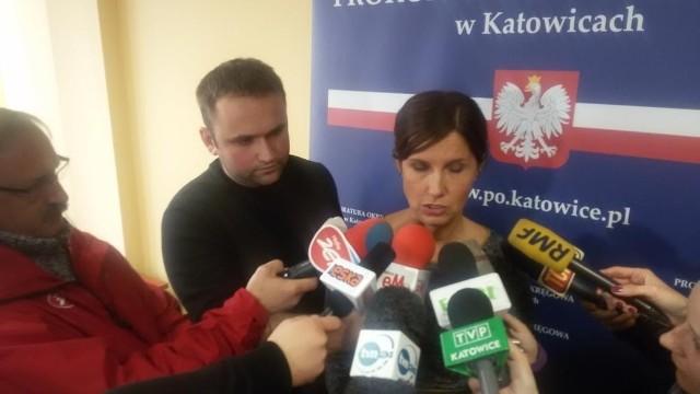 Konferencja w prokuraturze po wybuchu kamienicy w Katowicach