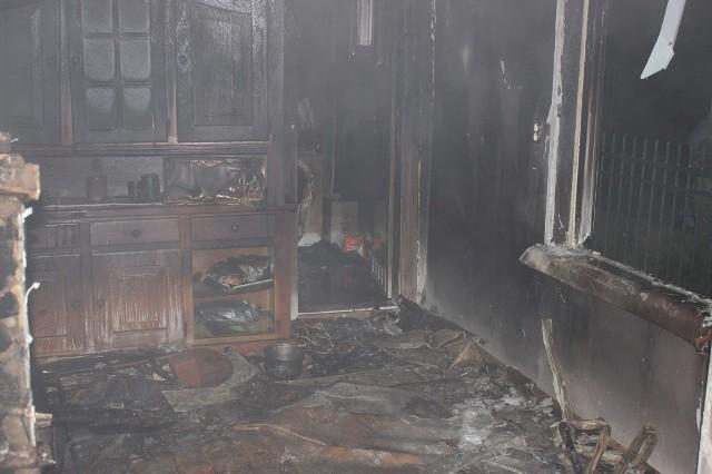 Krasna Wieś. Śmiertelna ofiara pożaru budynku mieszkalnego