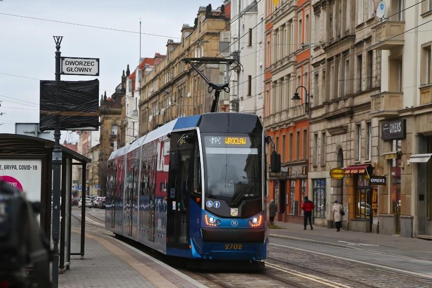 Uwaga! Dziś niektóre tramwaje jadą inną trasą