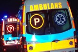 Dramatyczny wypadek w Będzinie. Samochód najechał na mężczyznę