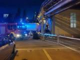 Wypadek na terenie browaru Żywiec: Ciężarówka staranowała dziesięć samochodów osobowych