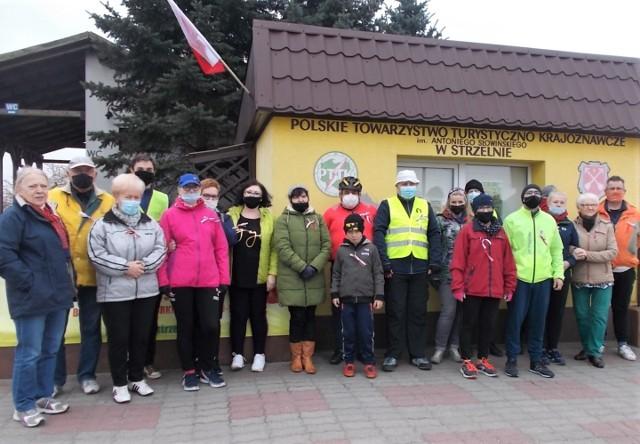 Oddział PTTK w Strzelnie zorganizował z okazji majówki 2021 rajd turystyczny do Miradza, w którym uczestniczyli turyści piesi i rowerzyści