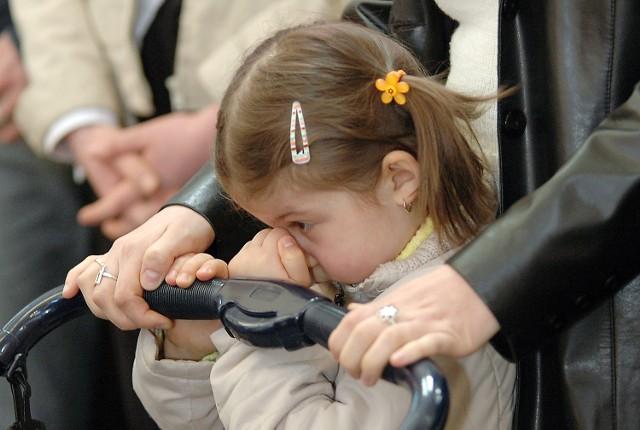 Podczas modlitw panowała absolutna cisza. Nawet najmłodsi rozumieli powagę chwili.