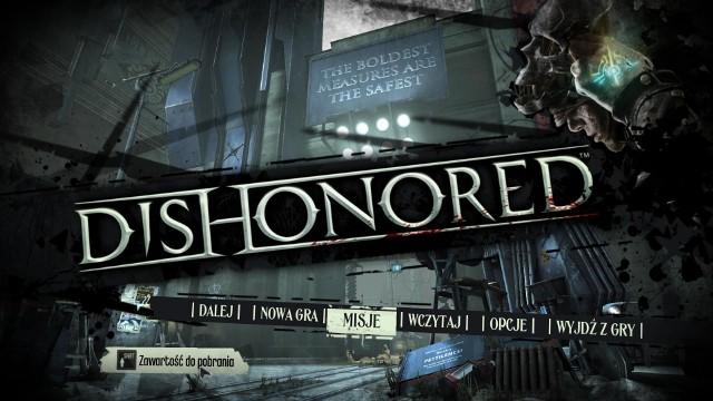 DishonoredDishonored: polską, kinową wersję językową znajdziemy na wszystkich platformach