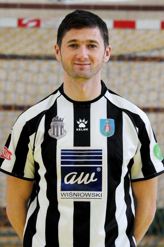 Arkadiusz Aleksander był napastnikiem Sandecji, teraz pełni funkcję pełnomocnika zarządu klubu