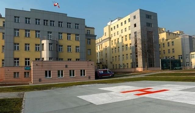 Lądowisko przy Szpitalu Narutowicza w Krakowie