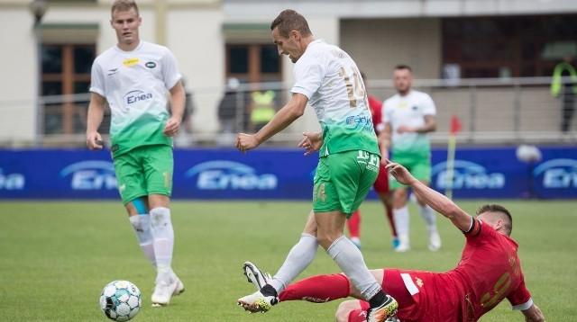 Piłkarze Radomiaka w październiku mecze w roli gospodarza nadal będą rozgrywać w Pruszkowie.
