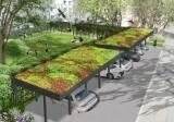 """Koniec z betonozą w Kędzierzynie-Koźlu? Miasto buduje """"zielone podwórka"""". Auta zaparkują pod trawą. Zobacz wizualizacje i zdjęcia z budowy"""