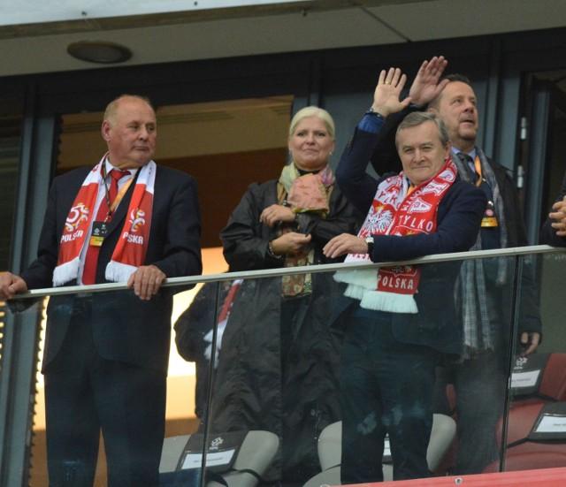Mecz Polska Dania przyciągnął polityków i celebrytów. A jak będzie na meczu Polska Armenia?