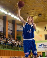 Jakub Patoka jest jedynym reprezentantem Polski grającym w drużynie koszykarzy Jeziora Tarnobrzeg