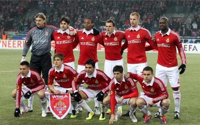 Wisła Kraków - Standard Liege (16.02.2012)