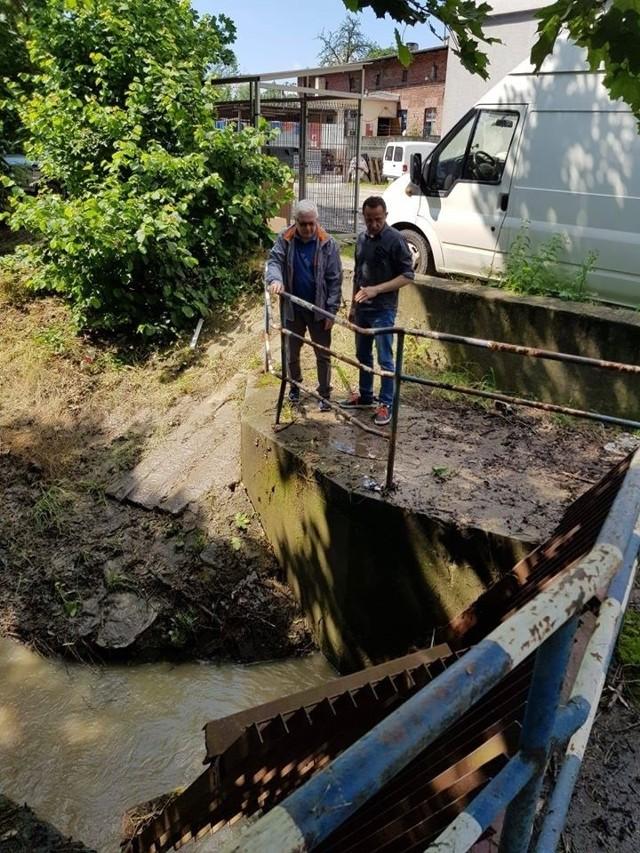 W Gliwicach szacowali straty wyrządzone przez żywioł
