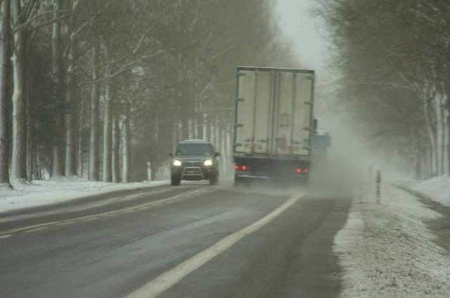 Trudne warunki pogodowe w Europie Środkowej.