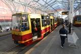 Trzywagonowy tramwaj w sobotę kursował po Łodzi