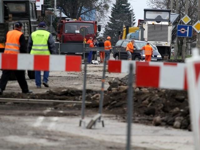 Ulica Dojlidy Górne i Halicka będą miały asfaltową nawierzchnię