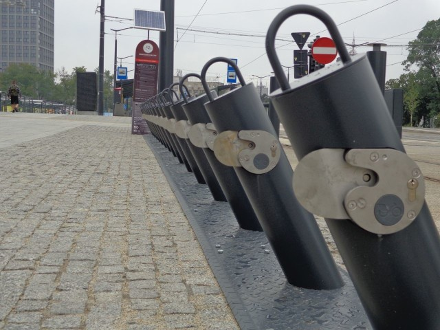 Z najbardziej popularnych stacji rowery znikały rano błyskawicznie
