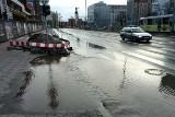 Awaria wodociągu w centrum Wrocławia. Utrudnienia w ruchu
