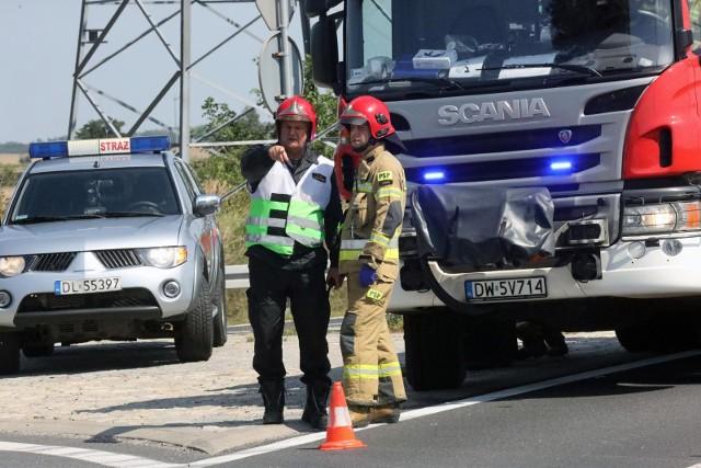 Do wypadku w Brzuchowie doszło 27 sierpnia ok. godz. 16.Zdjęcie ilustracyjne