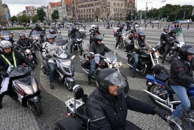 Parada Motocyklowa Solidarności. Motocykliści ruszyli w Poznań