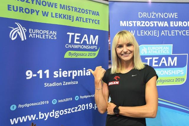 Justyna Święty-Ersetic wierzy w złoty medal polskiej reprezentacji w Bydgoszczy