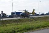 Wypadek na S7 między Gdańskiem i Nowym Dworem Gd. 14.08.2020. W Stawidłach zderzyły się 3 auta. Nie żyje dziecko i kobieta. 2 osoby są ranne