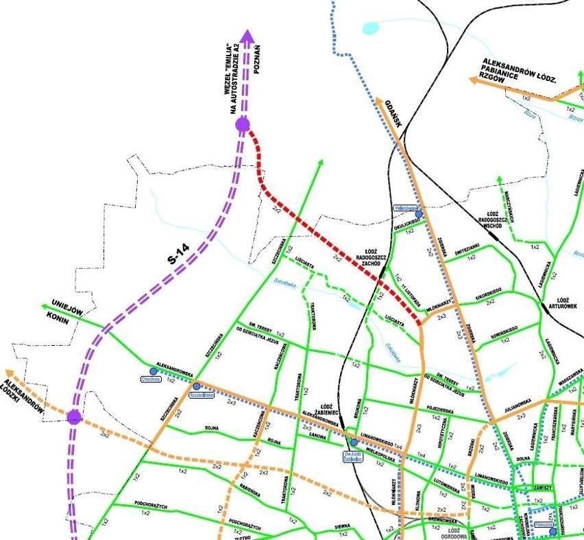 Zobacz plan budowy głównych dróg w Łodzi na najbliższe lata