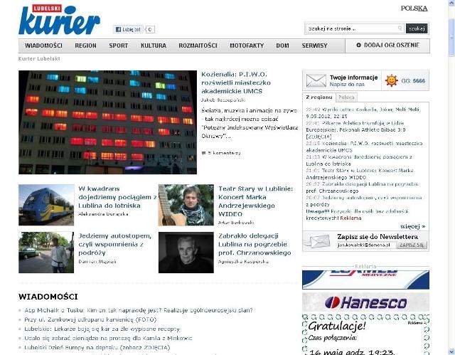 Nowa strona www.kurierlubelski.pl