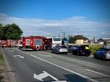 Wypadek z udziałem trzech pojazdów w powiecie pilskim. Cztery osoby trafiły do szpitala